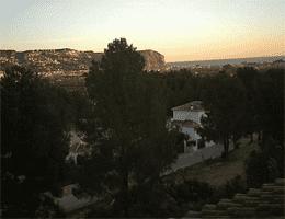 Jávea (Xàbia) Casa Hispano Cap de San Antonio Webcam Live