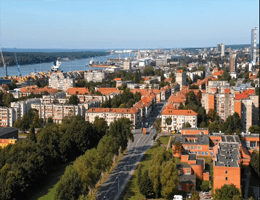 Klaipeda Panorama Webcam Live