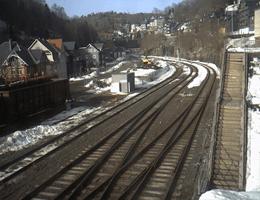 Lauscha Bahnhof Webcam Live