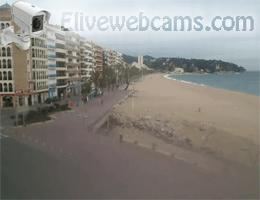 Lloret de Mar Beach Webcam Live