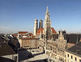 Marienplatz München Webcam Live