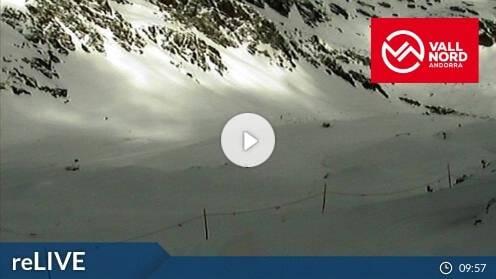 Ordino Vallnord Arcalís Cap de la Coma Webcam Live