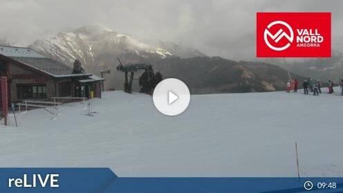 Pal Vallnord Pla de la Cot Webcam Live