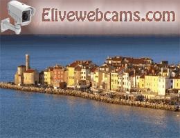 Piran Strandpromenade Webcam Live