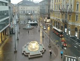 Rijeka Jadranski Platz Webcam Live