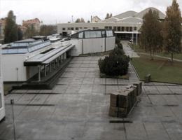 Rovaniemi Bibliothek Architekt Alvar Aalto Webcam Live