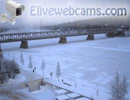 Rovaniemi Jätkänkynttilä Brücke Webcam Live