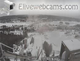 Rovaniemi Ounasvaara Panoramablick Webcam Live