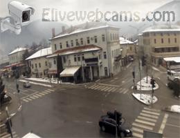Tolmin Stadtzentrum Webcam Live