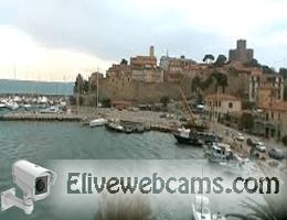 Talamone Hafen Webcam Live