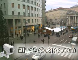 Triest Piazza della Borsa Webcam Live