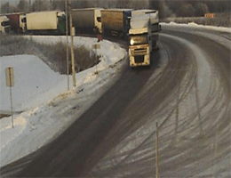 Tschernyschewskoje Kybartai Grenzübergang Webcam Live