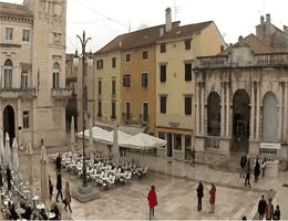 Zadar Narodni trg (Volksplatz) Webcam Live