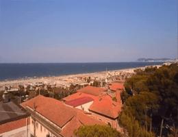 Riccione Strandpanorama Webcam Live