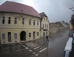 Petrinja Trg Josipa Jurja Strossmayera Webcam Live