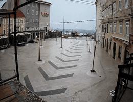 Senj Pavlinski trg Webcam Live