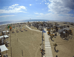 Bagno Primavera Beach Rosolina Mare Webcam Live