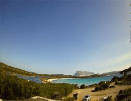 San Teodoro Spiaggia di Lu Impostu Webcam Live