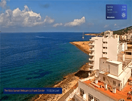 Sant Antoni Ibiza Sunset Webcam Live