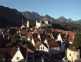 Füssen Panorama Webcam Live