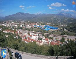 Knin Panorama Webcam Live