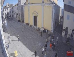 Motovun Trg Andrea Antico Webcam Live