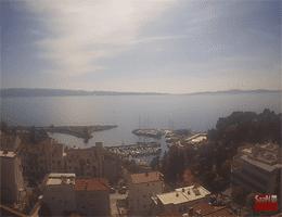 Split Hafenpanorama Webcam Live